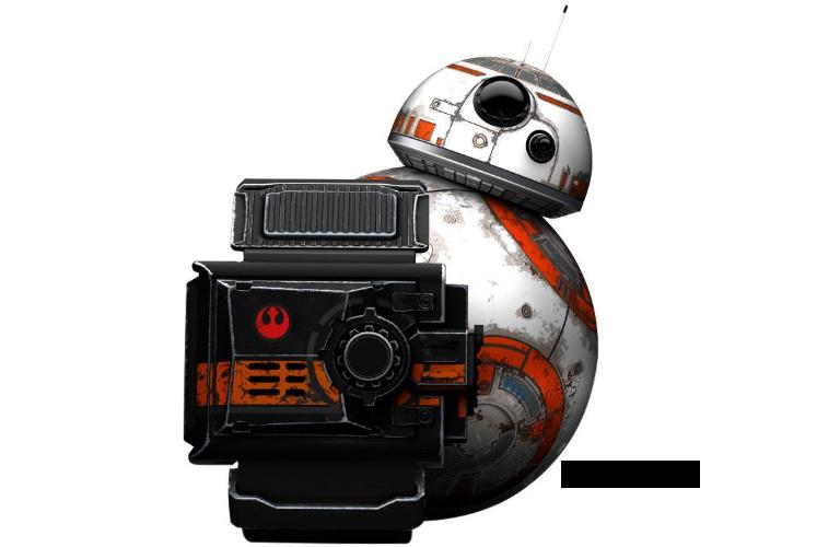 BB-8 peeking behind Force Band