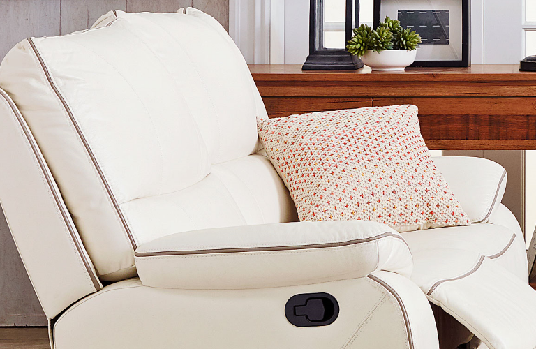 strata leather recliner suite