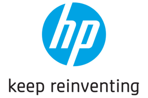 HP slogan logo