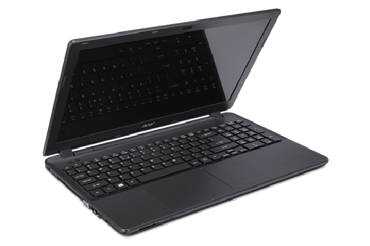 Front view of the Acer Aspire E5 laptop