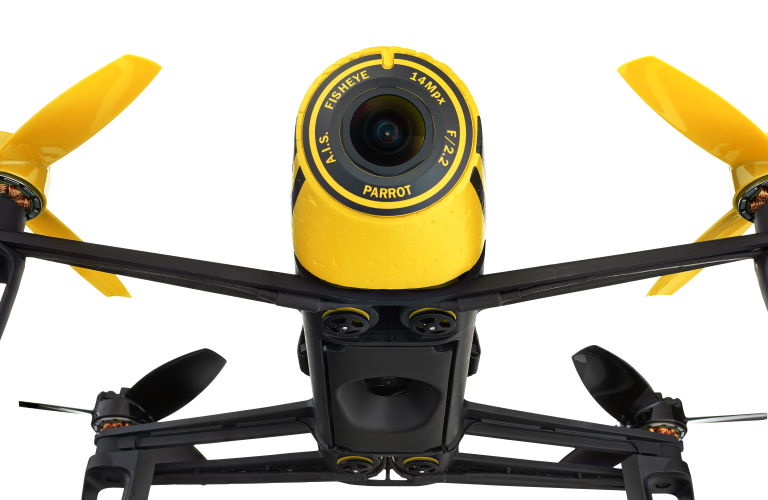 Bebop Fisheye Camera Closeup