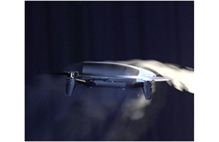 Bebop 2 Aerodynamic Test Photo