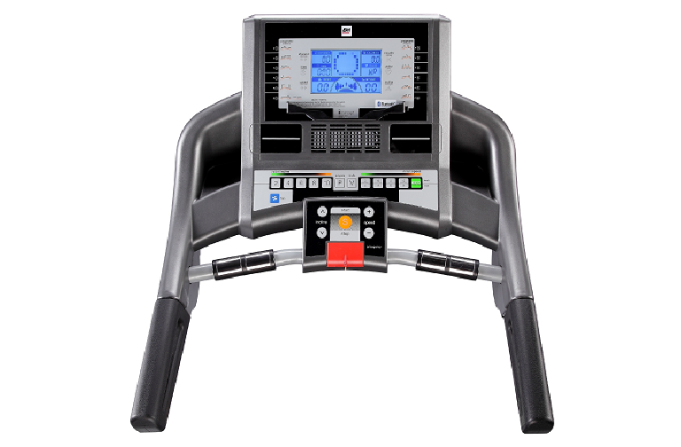 The i.Concept Treadmill's control panel