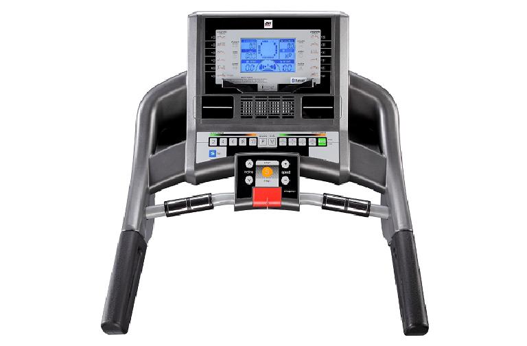The i.Concept Treadmill's control panel