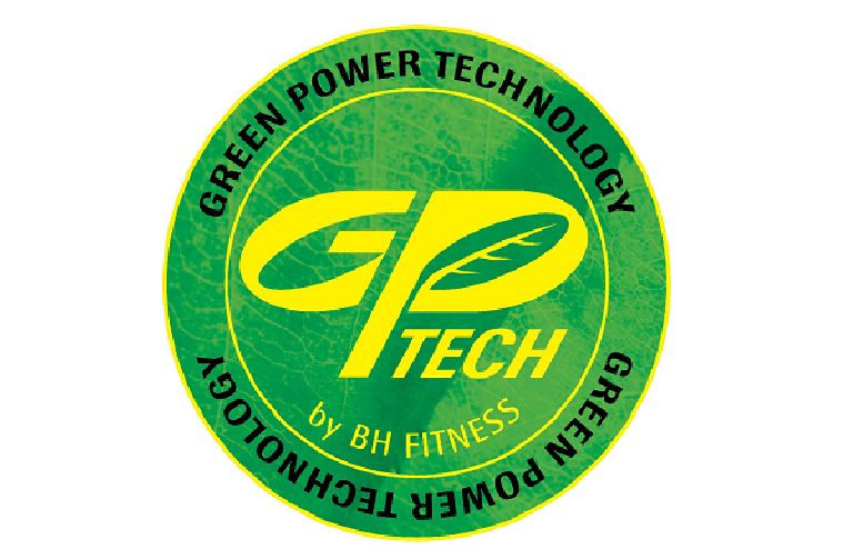 The BH Fitness Green Power Technology logo