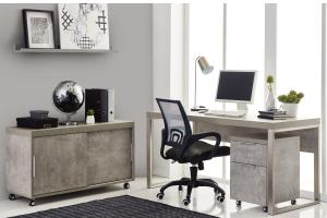 block desk set