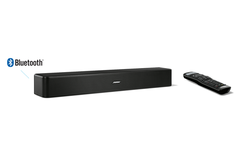 The Bose Solo 5 Sound System with remote