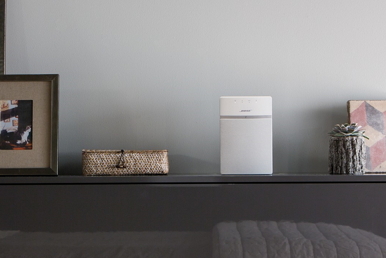 The SOundTouch 10 on a living room sideboard