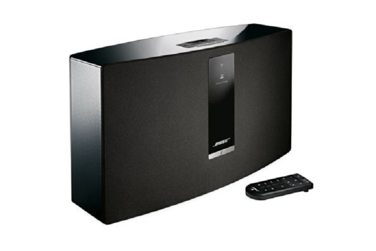 The Bose SoundTouch 30 Wireless Music System with remote