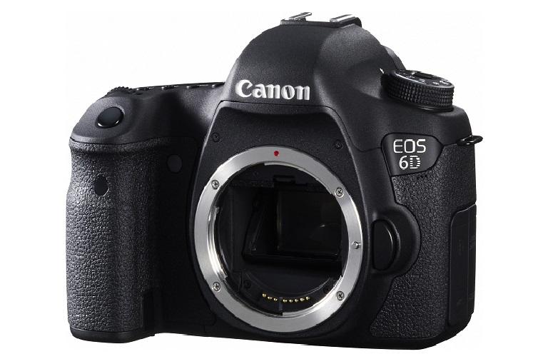 The Canon 6D digital camera