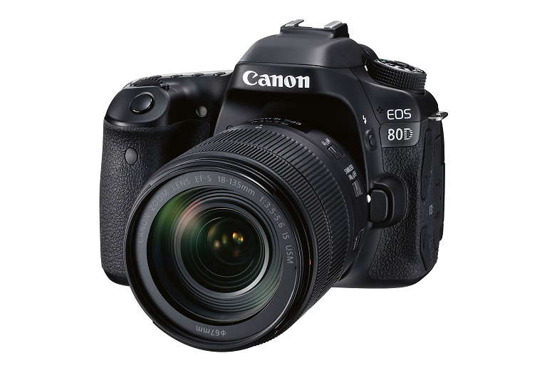 The Canon 80D DSLR