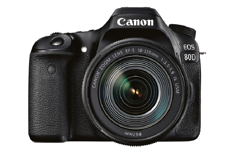 The Canon 80D DSL Camera