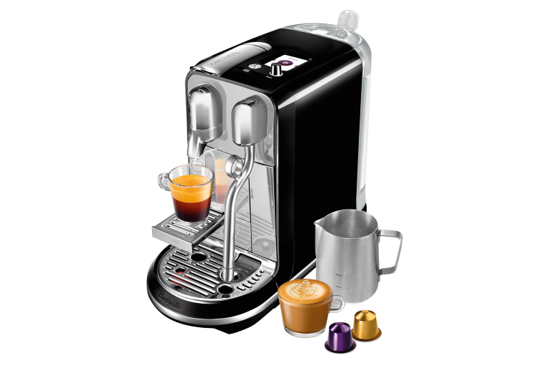 Nespresso creatista coffee machine salted liquorice coffee machines nes - Machine nespresso 2 tasses ...