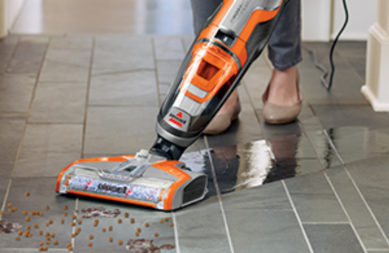 Bissell CrossWave mopping/vacuuming