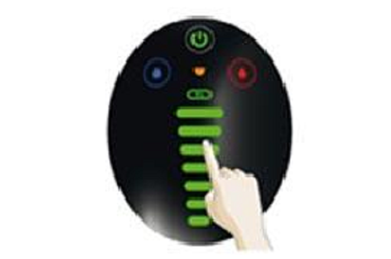 The Dolce Gusto Eclipse's easy to use control panel