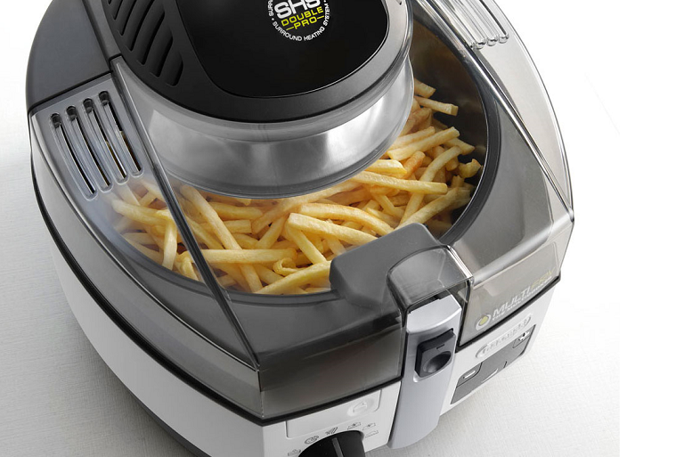 Fries cooking in the MultiCuisine cooker