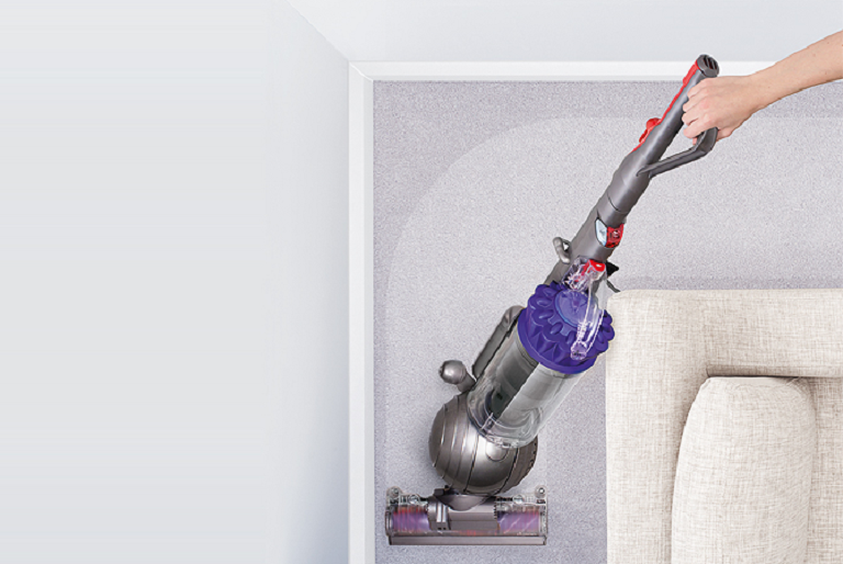 The Dyson Animal vacuum is easy to manouevre around corners and furniture