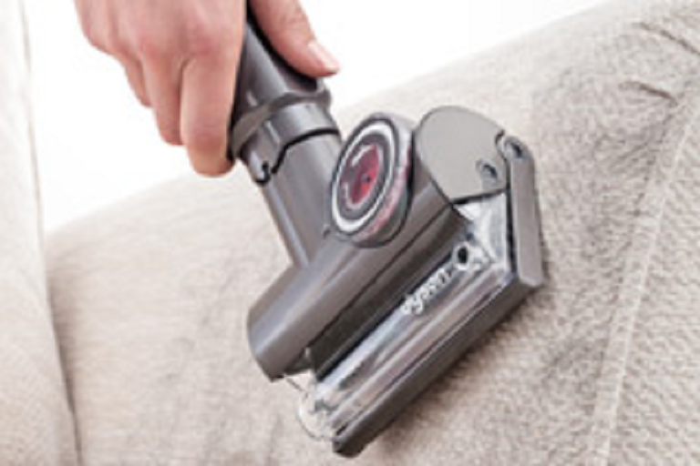 Vacuum lounges with the Dyson DC 65 vacuum
