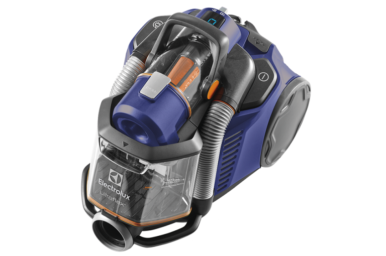 Angled view of the Electrolux UltraFlex Allergy Vacuuum