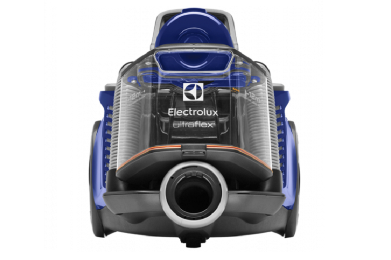 Front view of the bagless vacuum cleaner