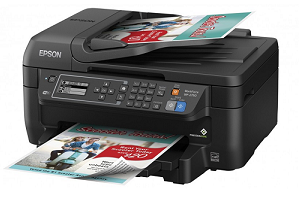 The Epson WorkForce WF-2750 Multi-Function Printer has a 150-sheet paper capacity, ideal for lengthy print jobs. It also has a 30-page Auto Document Feeder for convenient scanning and copying at the press of a button.