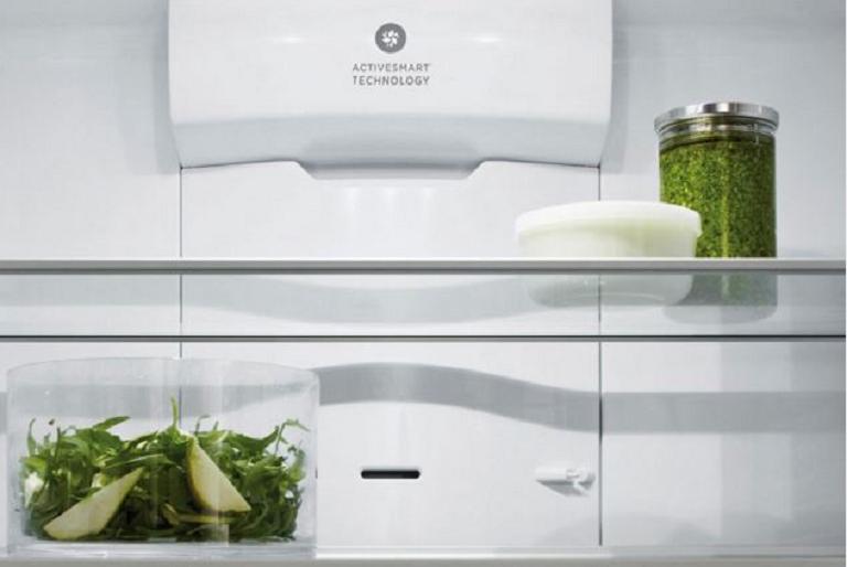 Inside the Fisher & Paykel fridge