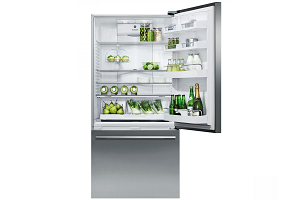 The Fisher & Paykel 519L Right Hinge Bottom Mount Fridge