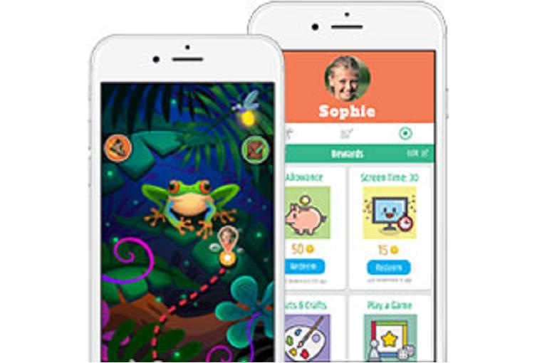The Vivofit Jr app