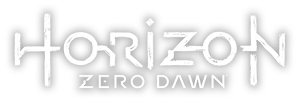 Horizon Zero Dawn logo.