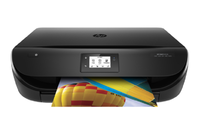 Front view of the HP printer