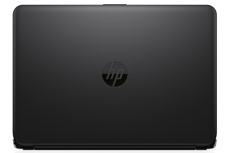 Overhead view of the HP 14
