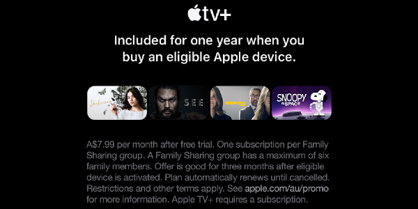 Apple TV Banner
