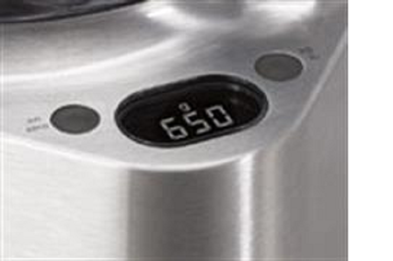 The Kenwood food processor's built in scales