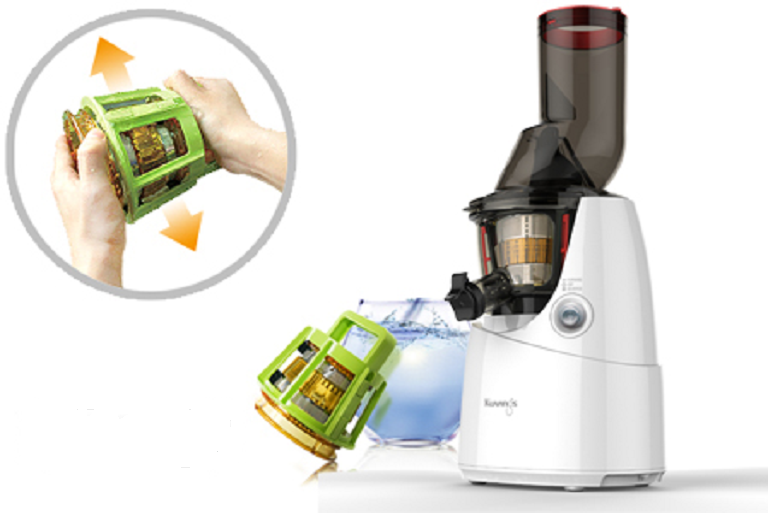 Best Slow Juicer Easy Clean : Buy Kuvings Whole Fruit Slow Juicer - Silver Harvey Norman AU