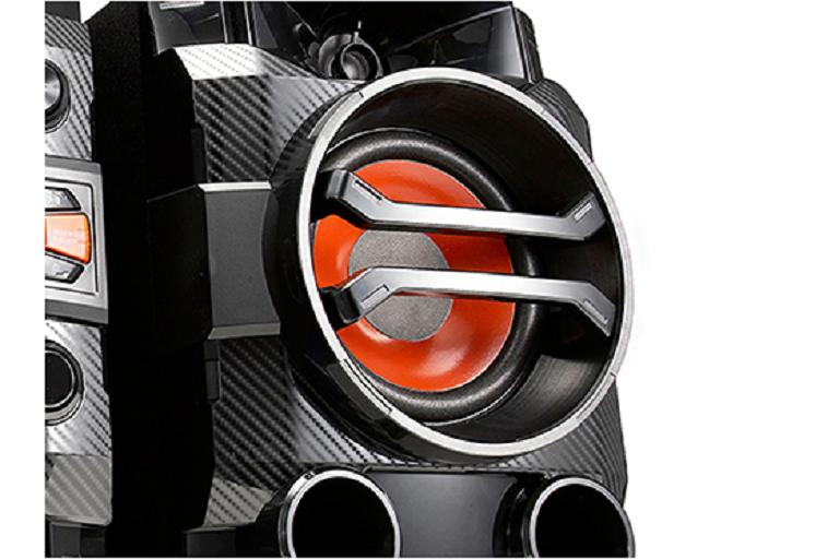 Close up of the Mini HiFi speaker