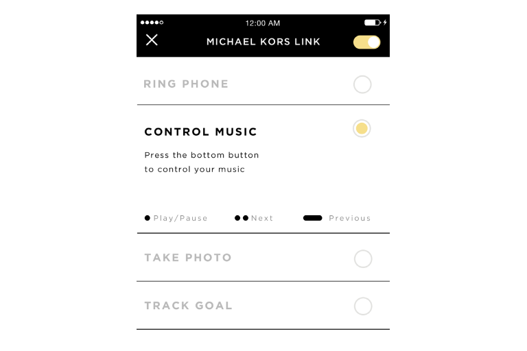 michael kors Runway activity tracker