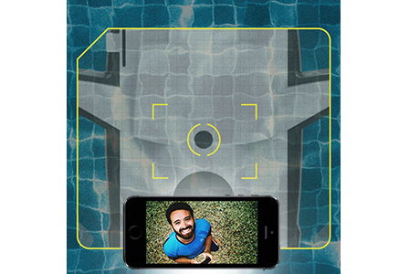 A smartphone display the Hydrofoil 