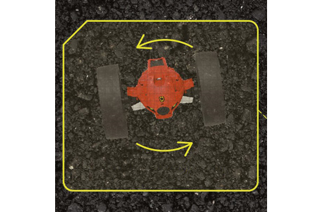 A diagram showing how the Jumping 