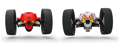 Parrot Jumping Minidrone product   box.