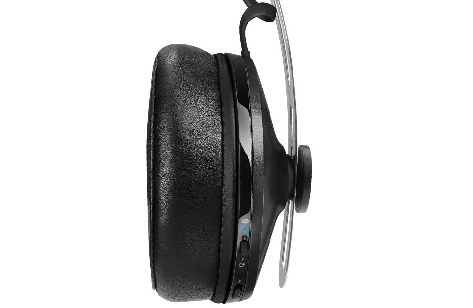 Side-on view of Momentum Wireless   Headphones.