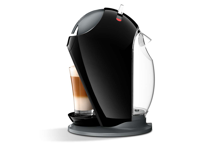 Side view of the Nescafe Dolce Gusto Jovia Coffee Machine