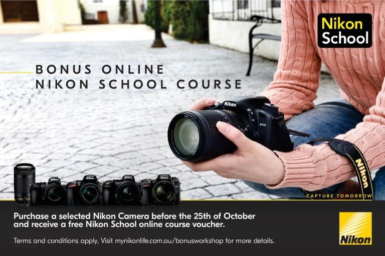 Harvey Norman Nikon School