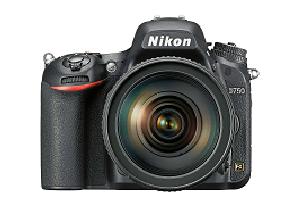 The Nikon D750 camera