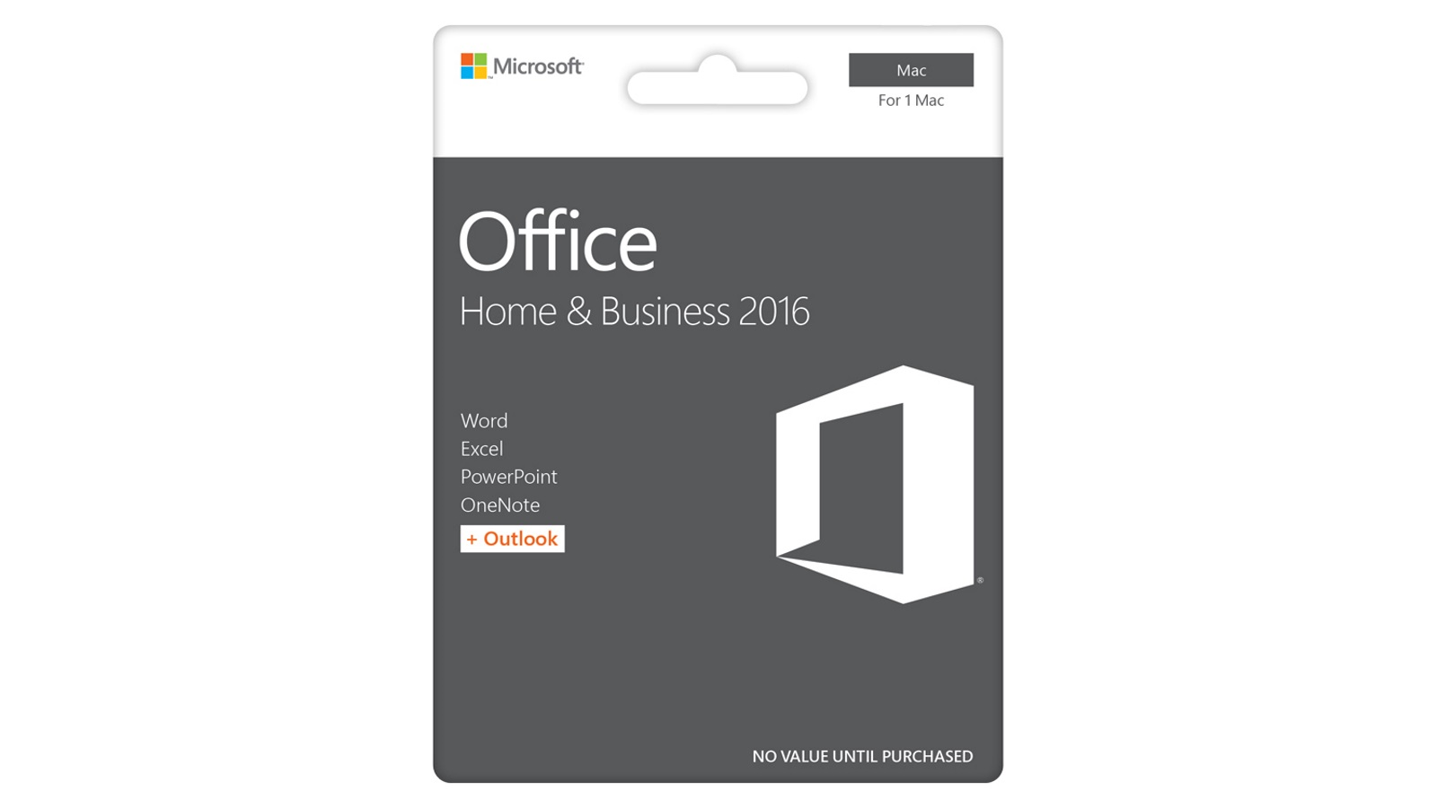 Buy Microsoft Office Mac Home and Business 2016 | Harvey Norman AU
