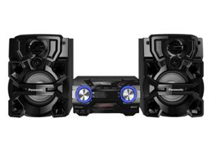 The Panasonic 1700W Bluetooth Mini HiFi System