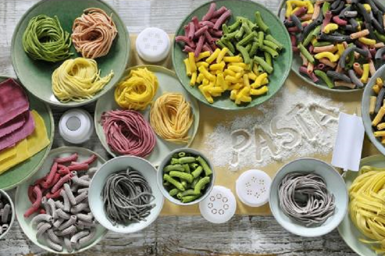 A wide range of pastas made with the Philips Avance Pasta Maker
