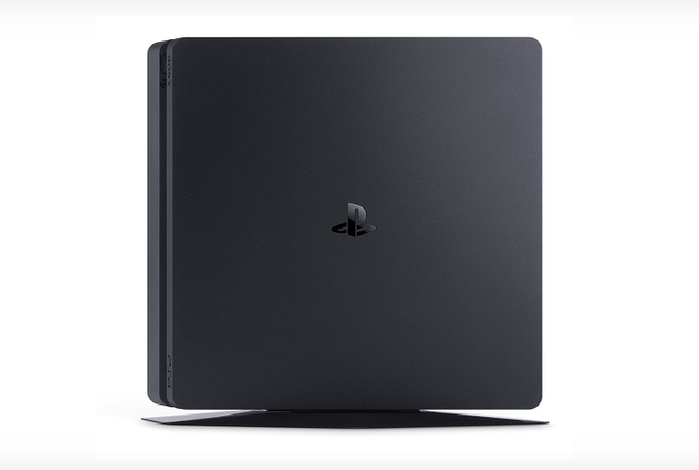 Front view of the PS4