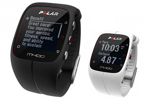 The Polar M400 GPS Watch