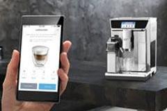 DeLonghi PrimaDonna Elite coffee   app.