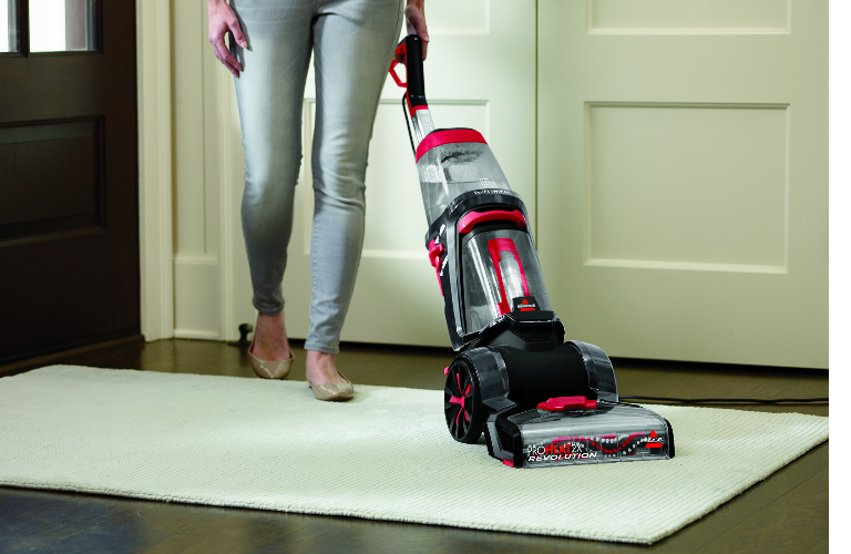 Proheat Revolution cleaning carpet